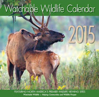 2015 Watchable Wildlife Calendar